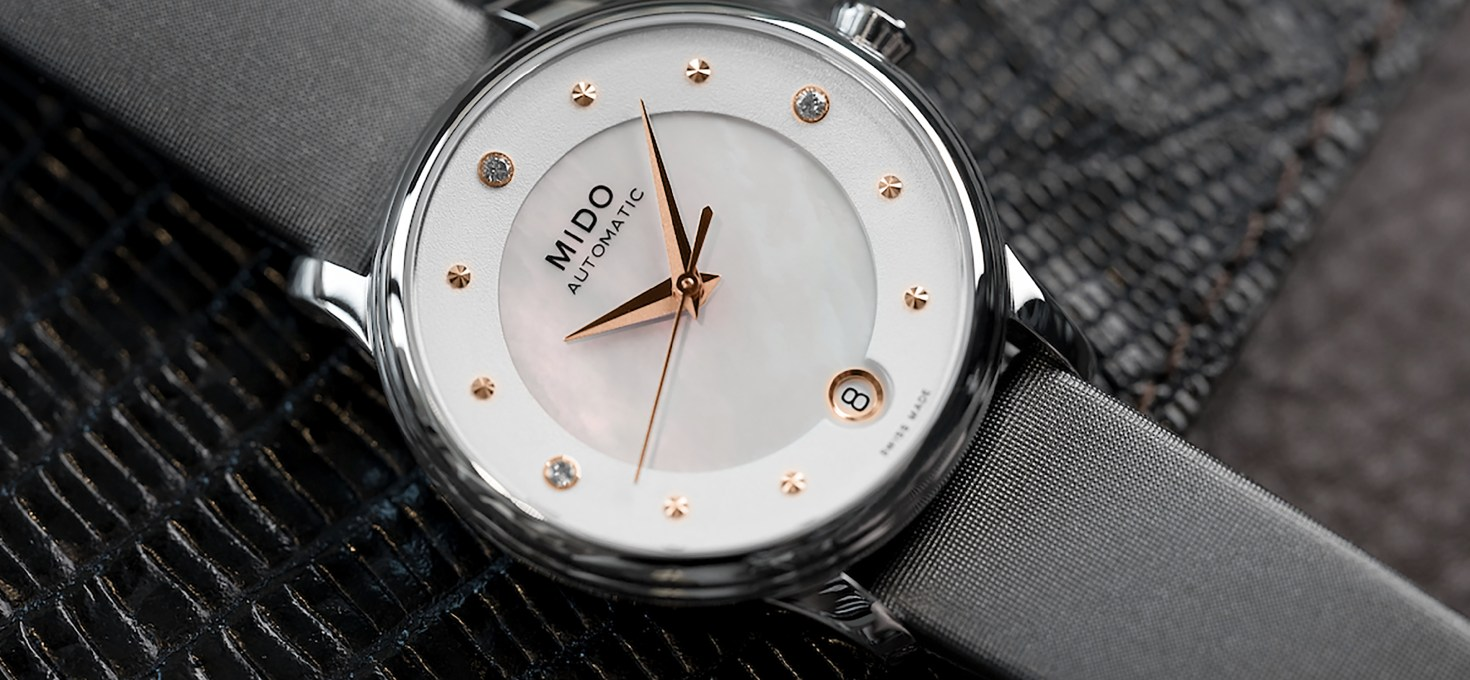 Mido Baroncelli Lady Day & Rainflower collections launched in Singapore – Lady Day from RM3,790
