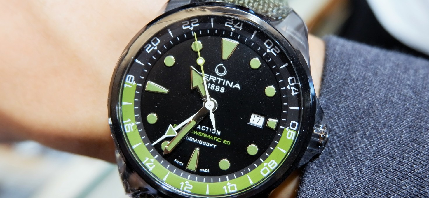 QUICKIE: Certina DS Action GMT Powermatic 80
