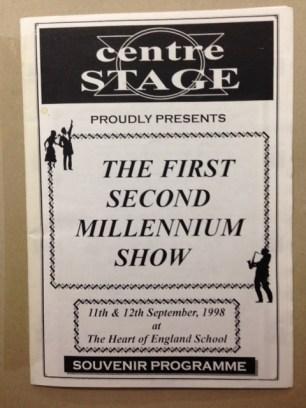 The First, Second Millennium Show 1998