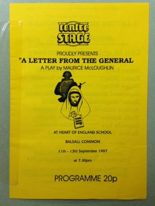 A Letter From The General 1997