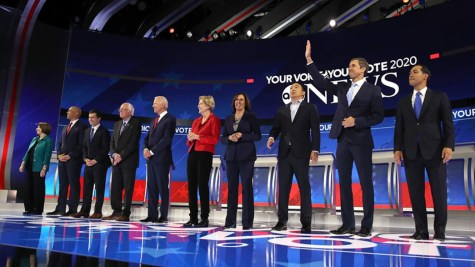 Third Democratic Primary Debate