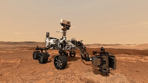 """Perseverance Rover"" by SonnyandSandy is licensed with CC BY-NC-ND 2.0. To view a copy of this license, visit https://creativecommons.org/licenses/by-nc-nd/2.0/"