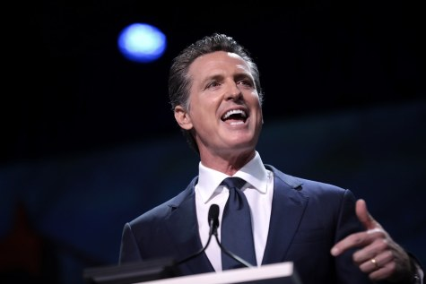 "(Photo: ""Gavin Newsom"" by Gage Skidmore)"