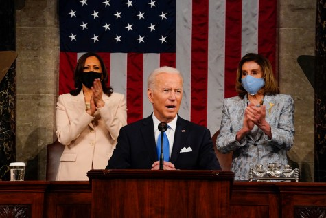 Biden's First Speech To Congress