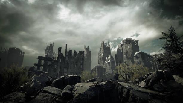 Credit: Bulgac (https://www.istockphoto.com/photo/post-apocalyptic-urban-landscape-gm1175959113-327689724)