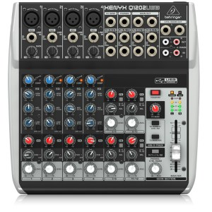 Behringer XENYX QX1202USB USB/Audio Interface Mixer