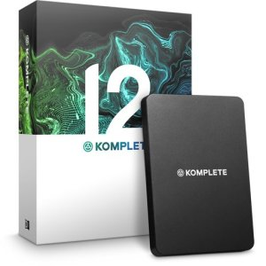 Native Instruments KOMPLETE 12 Ultimate, Educational 5-Pack (Boxed Full Version)