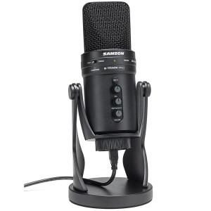 Samson G-Track Pro Studio USB Podcast Microphone Mic+Built in Audio Interface