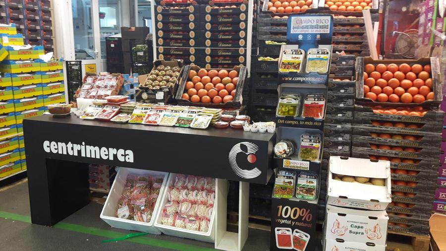 Centrimerca promociona los productos de Campo Rico