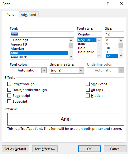 Capitalize Each Word In Word : capitalize, Microsoft, Formatting, Documents