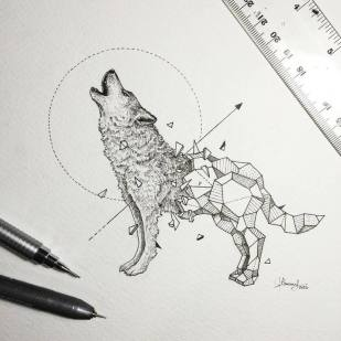 Abstract-Geometric-Animal-Illustrations-By-Kerby-Rosanes-01