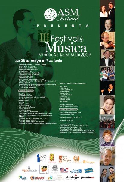 Panama-Festival de Musica Alfredo de Saint Malo
