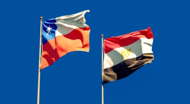 Egipto y Chile discuten la cooperación económica bilateral, activando el comité conjunto