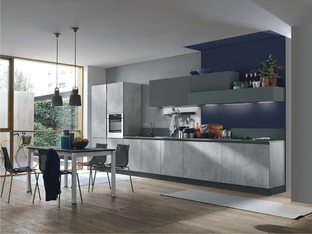Le cucine lineari sono spesso la soluzione più comoda e diffusa, perché concentrano tutte le funzioni lungo una sola parete oppure lungo due pareti frontali. Cucine Lineari Arredare La Cucina Su Una Parete