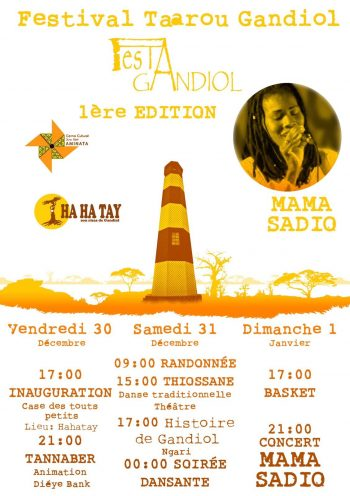 Festival Taaru Gandiol- Primera actividad cultural de Aminata.