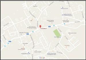 Mappa centro culturale