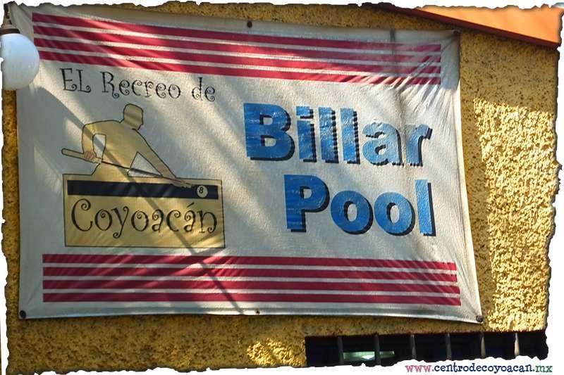 Billar El recreo Coyoacn
