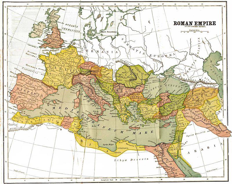La Historia del Olivo: Roma