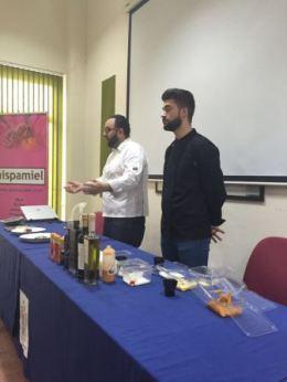 Preparación de plato OleoMiel 2016