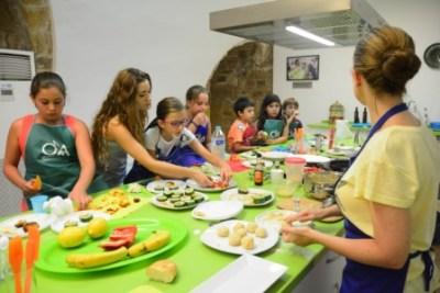 Taller de niños y cocina