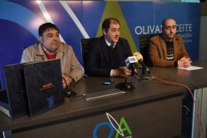 Giuseppe Parma en el Centro de Interpretación Olivar y Aceite