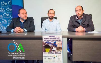 II EDICIÓN DEL CURSO  PARA MAESTROS Y OPERARIOS DE ALMAZARAS