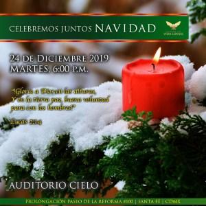 REUNIÓN ESPECIAL: Celebremos juntos Navidad