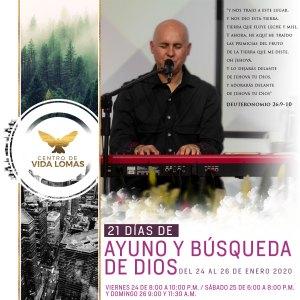 Fin de semana de Búsqueda De Dios con Alberto Rivera