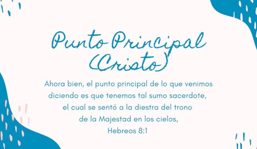 PUNTO PRINCIPAL (CRISTO) – Paola Acero