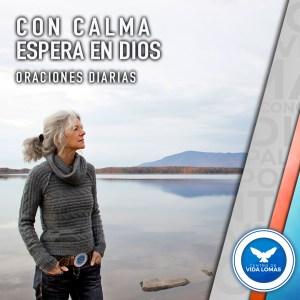 Con calma espera en Dios