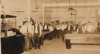 Ybor Pool Hall c. 1926