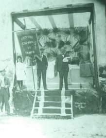 Centro Español cornerstone ceremony (1904)