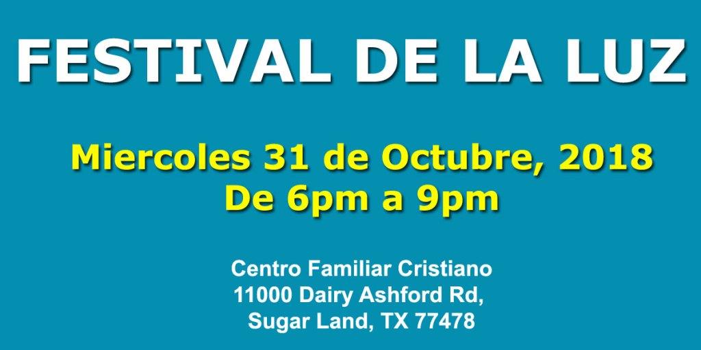 Festival de la Luz en el Centro Familiar Cristiano