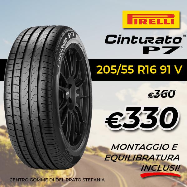 Promo Cinturato P7 Pirelli