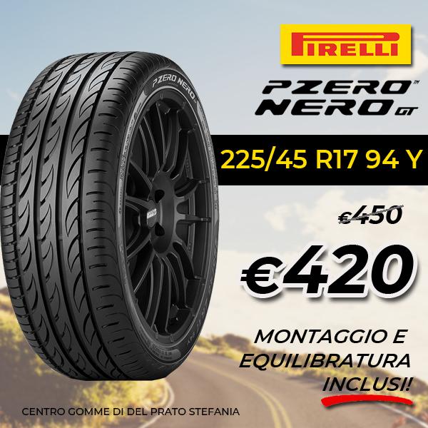 Promo P-zero nero gt Pirelli