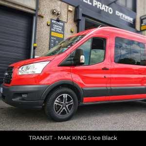TRANSIT - MAK KING 5 Ice Black