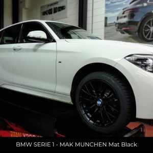 BMW SERIE 1 - MAK Munchen Mat Black