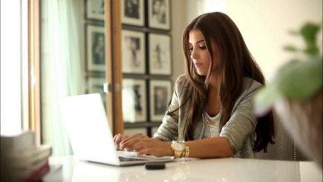 Woman Working In The Office | Flurt in Woman Working In Home Office - Auto Car