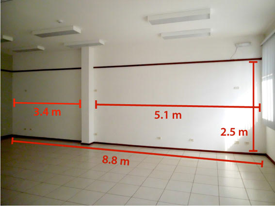 Presentación visual del Auditório