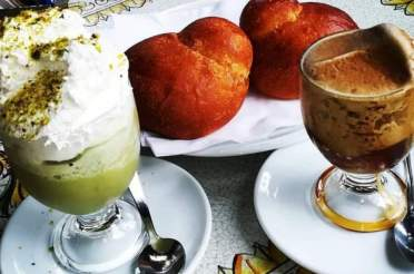 Sicilian granita and its seasons