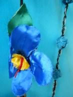 Detalhe de cortina confeccionada por Maria da Paz Macedo Pereira
