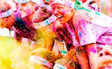 felicità nemesis color run