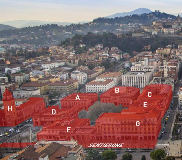 Il progetto di Piacentini  Centro Piacentiniano