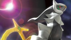 Evento: Arceus, disponible vía Pokémon Game Link