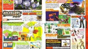Scan de Famitsu Pokémon Platino