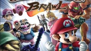 Box Art Oficial de Super Smash Bros Brawl Americano