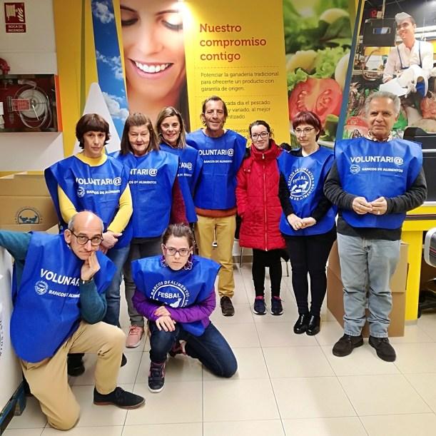 El Centro San Juan de Dios colabora con el Banco de Alimentos