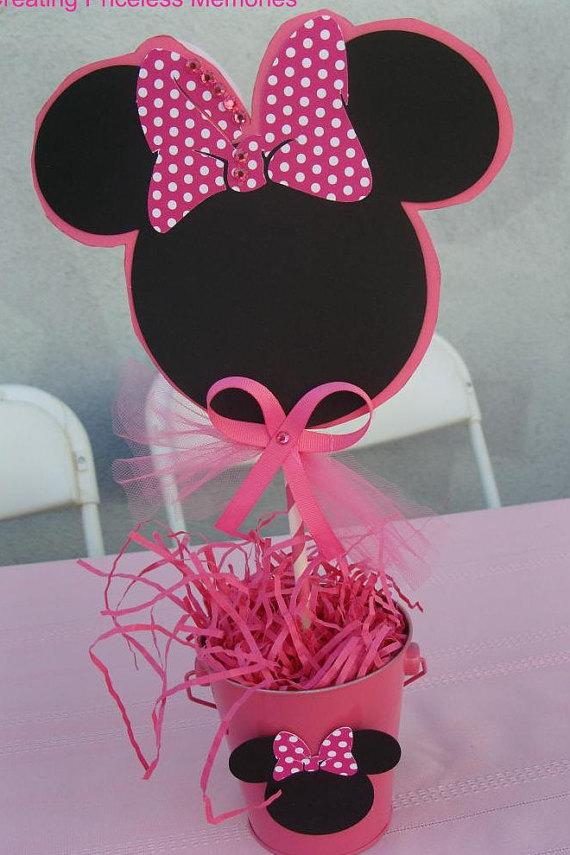 De Como Un Mesa Hacer De Mouse Centro Minnie