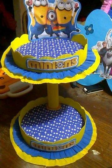 Original decoracion minions para fiestas infantiles
