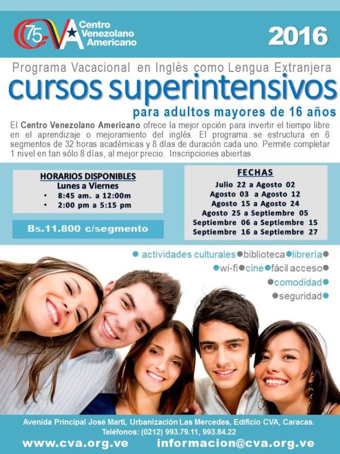 Superintensivos CVA 2016